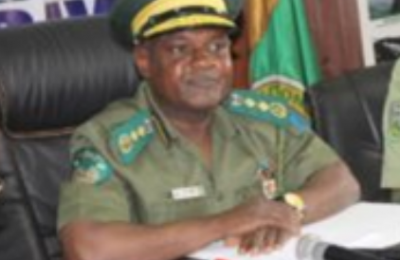The Conservator General of the National Park Service, Dr Ibrahim Goni