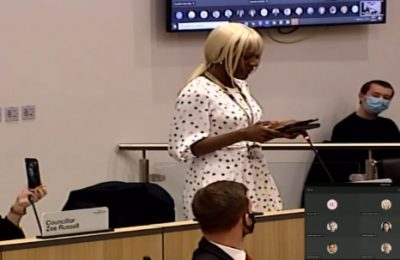 SA DIASPORA, Cllr. Celia Osakwe-Hibbert moving a proposal in Wolverhampton to make Cllr. Sandra Samuels as Deputy Mayor of Wolverhampton